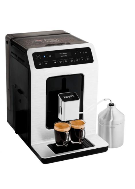 MACHINE EXPRESSO AVEC BROYEUR A CAFE EVIDENCE KRUPS