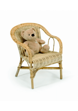 FAUTEUIL ROTIN CRAPAUD ENFANT