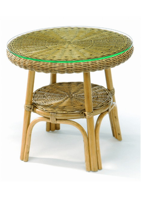 TABLE BASSE ROTIN SINGAPOUR TROPIC ATTITUDE