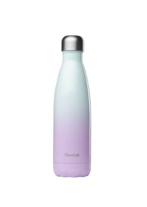 BOUTEILLE ISOTHERME SKY ROSE 500 ML QWETCH