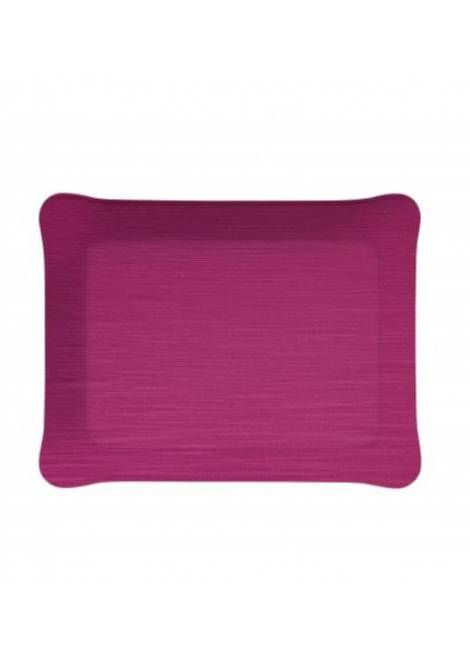PLATEAU ACRYLIQUE MAYFAIR ROSE PLATEX