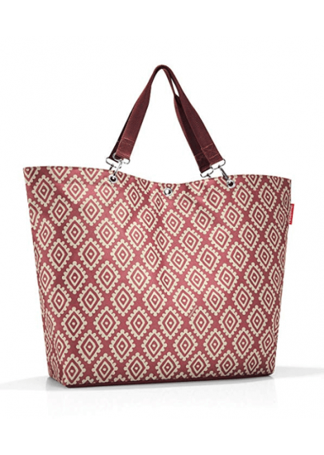 SAC SHOPPER XL DIAMONDS ROUGE REISENTHEL