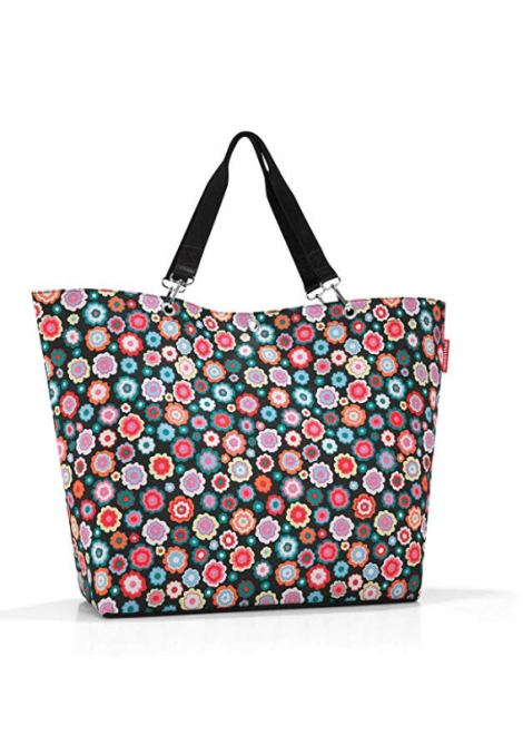 SAC PLAGE SHOPPER XL HAPPY FLOWERS REISENTHEL