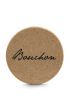 TABOURET BOUCHON LIEGE ANTHRACITE 46CM DOMITALIA