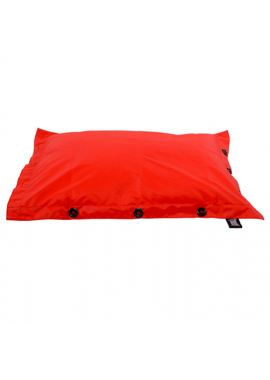 POUF PISCINE ROUGE 125