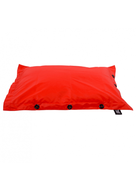 POUF PISCINE ROUGE 125CM SHELTO 661