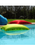 POUF PISCINE ORANGE 100CM SHELTO 605