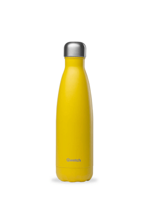 BOUTEILLE POP JAUNE 500 ML QWETCH