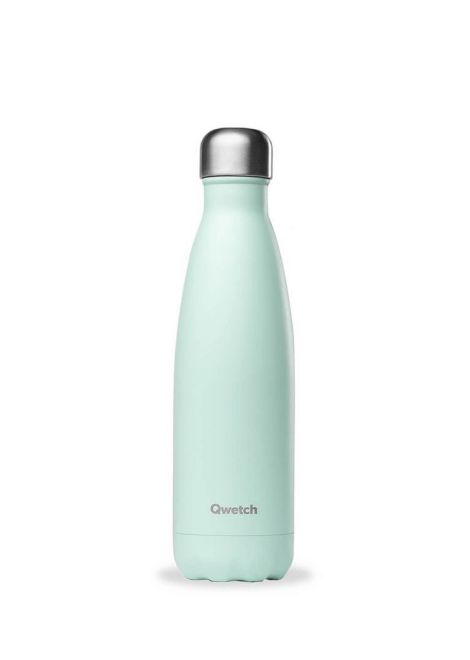 BOUTEILLE QWETCH VERT PASTEL 500 ML