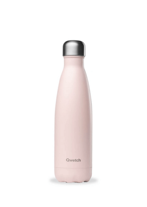 BOUTEILLE QWETCH ROSE PASTEL 500 ML