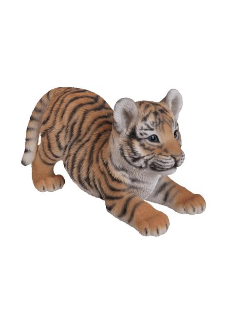 STATUE TIGRE EN RESINE 31 X 18