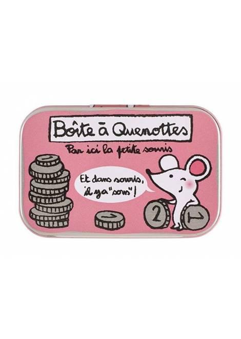 BOITE À QUENOTTES - ROSE