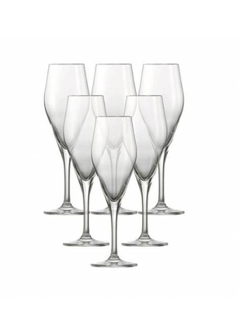6 FLUTES A CHAMPAGNE AUDIENCE 25CL