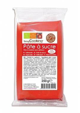 PATE A SUCRE ROUGE 250gr