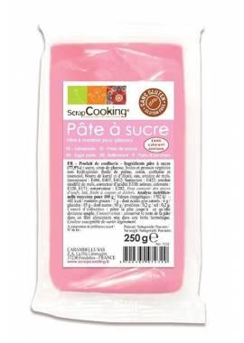 PATE A SUCRE ROSE 250 gr