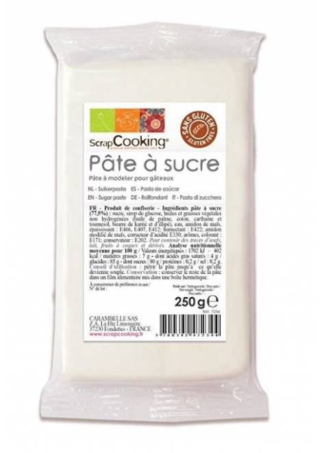 PATE A SUCRE BLANCHE 250gr