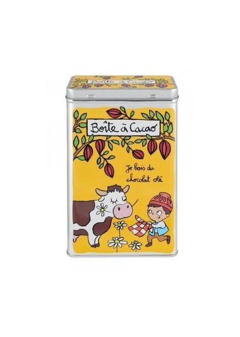 BOITE CACAO CHOCOLAT OLE