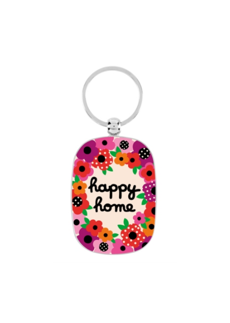 PORTE CLES HAPPY HOME