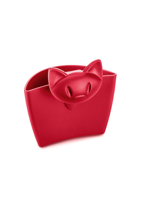 PORTE SACHET THE MIMMI ROUGE