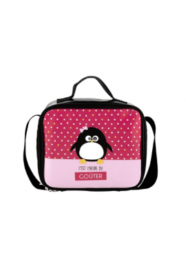 SAC A GOUTER ISOTHERME FILLE