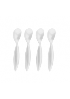 SET 4 CUIL GLACE BLANC