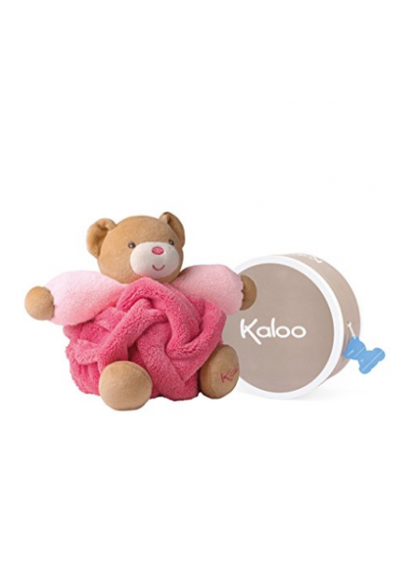 PELUCHE PETIT OURS FRAMBOISE KALOO