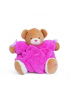 PELUCHE OURSON FRAMBOISE PLUME