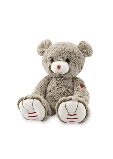 PELUCHE OURS SABLE ROUGE KALOO