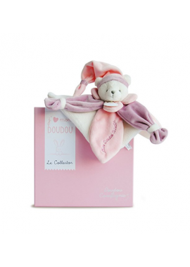 DOUDOU OURS ROSE