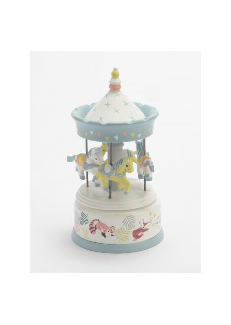 CARROUSEL MUSICAL ANIMAUX